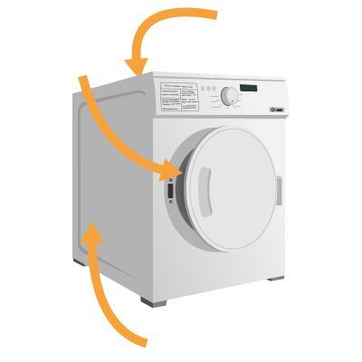 washing machine model number