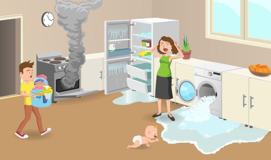Survival Guide For Broken Appliances Ransom Spares