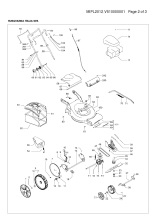 mcculloch m51 140 wr (96717320103) lawnmower spares & parts ransom  mcculloch 140 wiring diagram #7