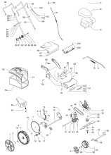 mcculloch m46 140 wr (96717390104) lawnmower spares & parts ransom  mcculloch 140 wiring diagram #14