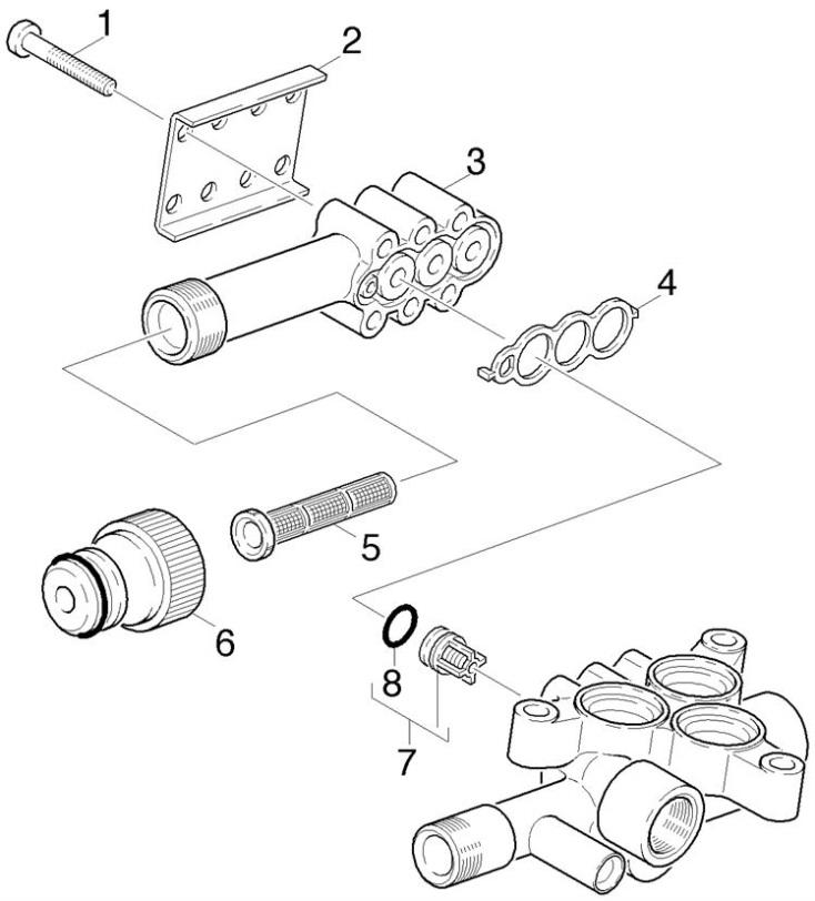 karcher mx vps eu pressure washer suction side spare parts diagram. Black Bedroom Furniture Sets. Home Design Ideas