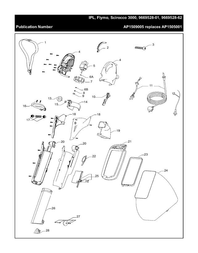 Flymo Scirocco 3000 966952801 Garden Vacuum Product