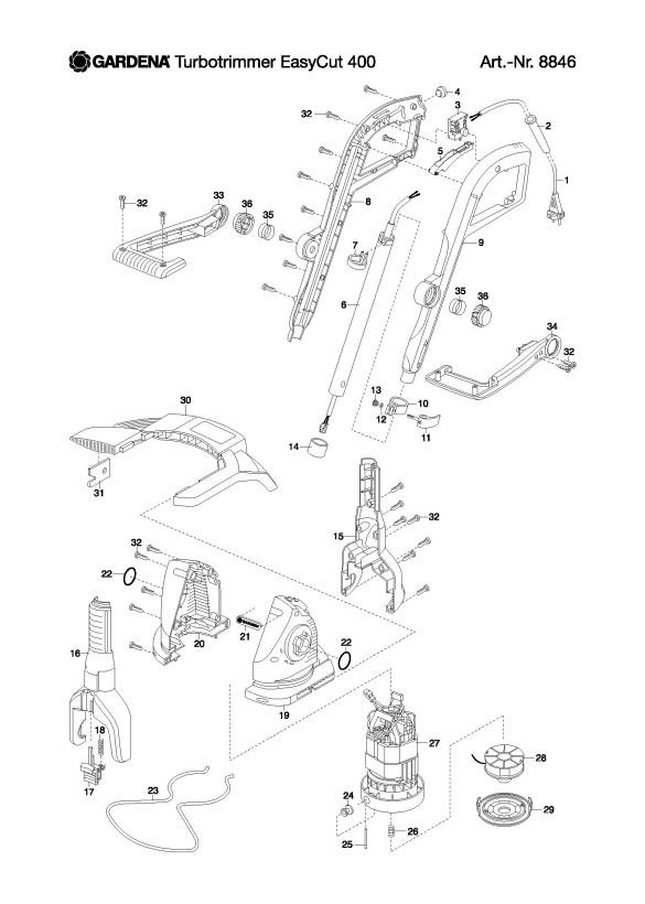 gardena spare parts. Black Bedroom Furniture Sets. Home Design Ideas