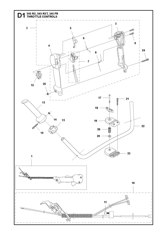 Husqvarna 345 FR Trimmer THROTTLE CONTROLS Spare Parts Diagram on beta wiring diagram, yamaha wiring diagram, arctic cat wiring diagram, norton wiring diagram, husqvarna honda, husqvarna mower schematics, husky riding mower parts diagram, bajaj wiring diagram, echo wiring diagram, cub cadet wiring diagram, polaris wiring diagram, riding lawn mower wiring diagram, sears wiring diagram, ayp wiring diagram, ossa wiring diagram, scotts wiring diagram, electrolux wiring diagram, kubota wiring diagram, ajs wiring diagram, simplicity wiring diagram,