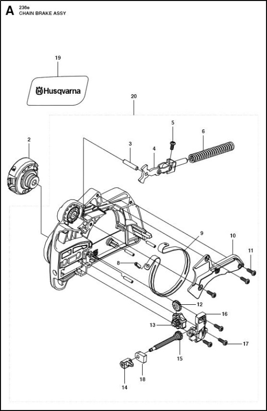 Chainsaw Chain Parts Diagram