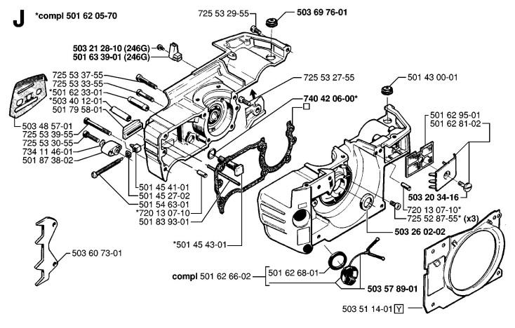 husqvarna 501 engine diagram wire data u2022 rh coller site V8 Chainsaw Wankel Rotary Engine