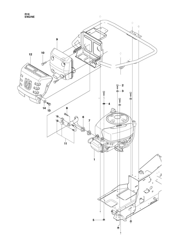 Husqvarna Yth 2348 Parts Diagram