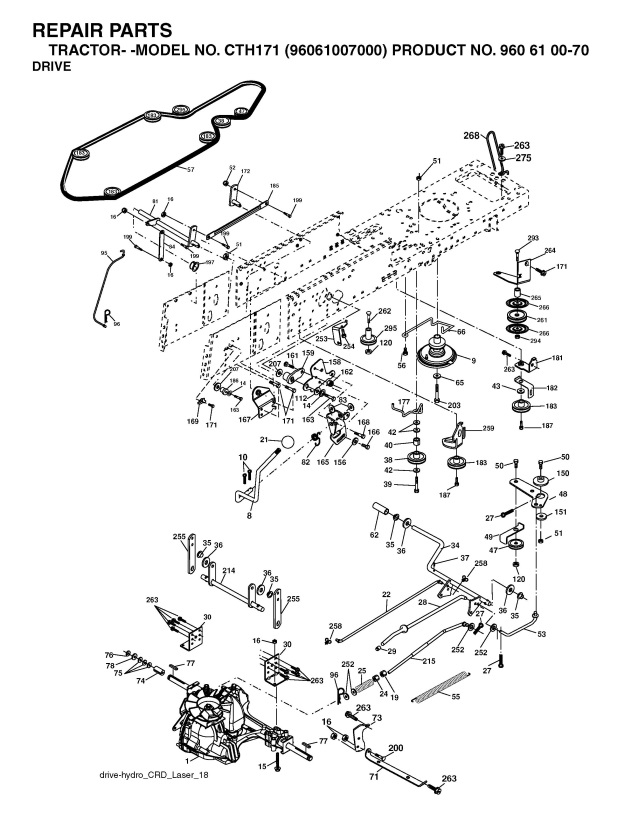 Parts Diagram For 200 275