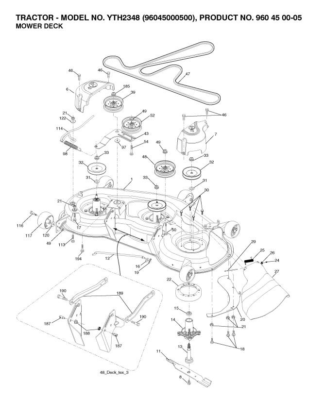 husqvarna yth2348 deck diagram wiring diagram post