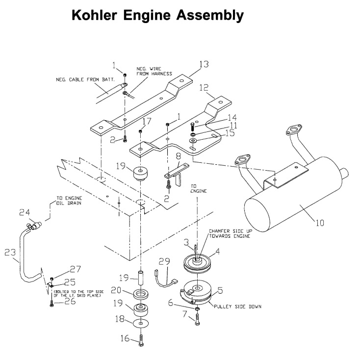 kohler kt17 parts diagram