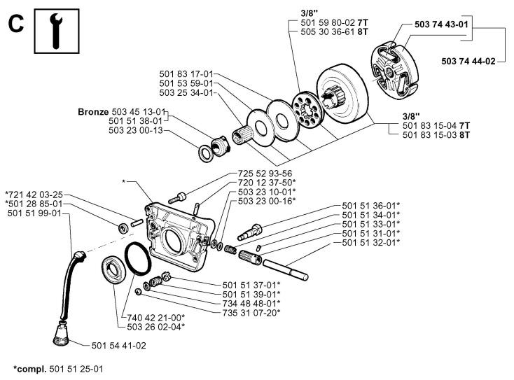 jonsered 630 parts manual images