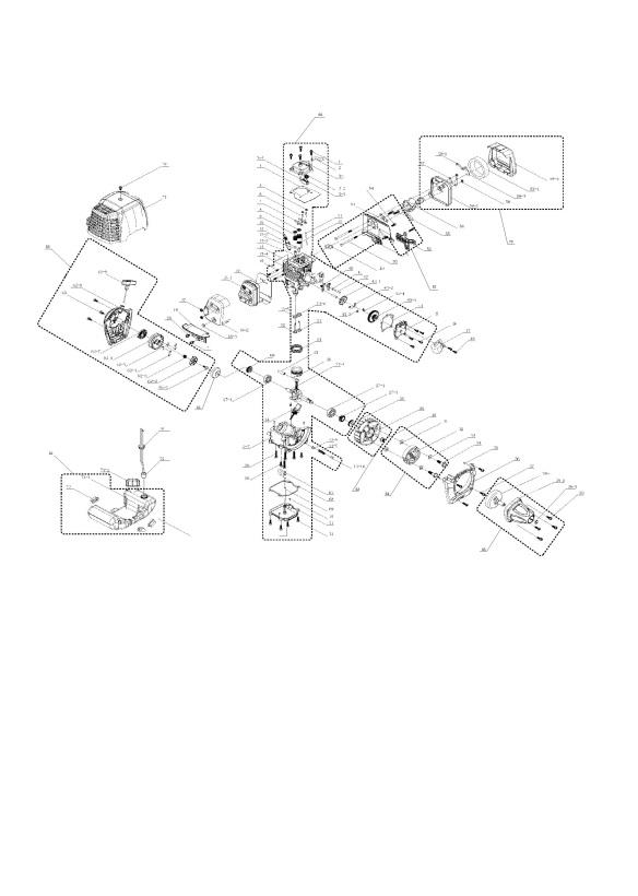 Mcculloch Mac Bc 435 B 965873801 Trimmer Engine Spare Parts Diagram