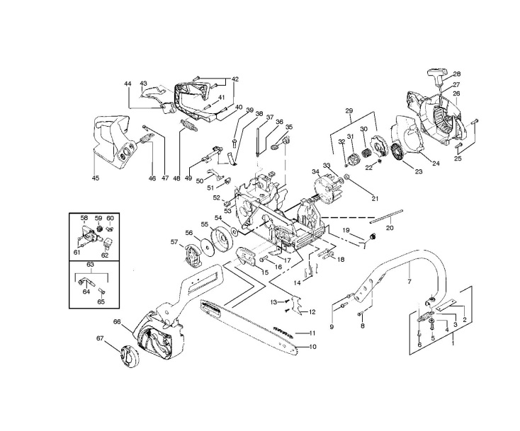 Mcculloch Chainsaw Parts Diagram – Wonderful Image Gallery