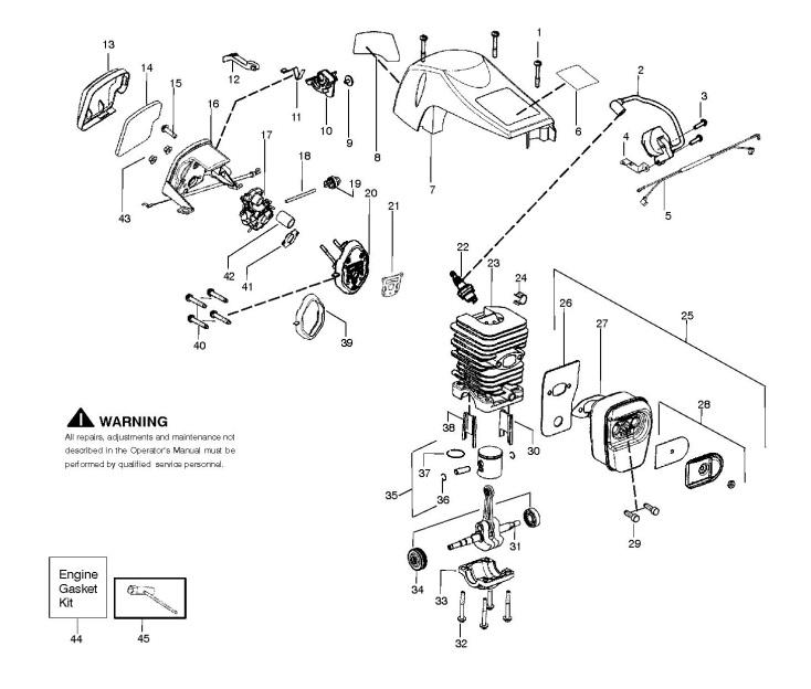 Stihl Chainsaw Engine Diagram - Wiring Diagram Ops