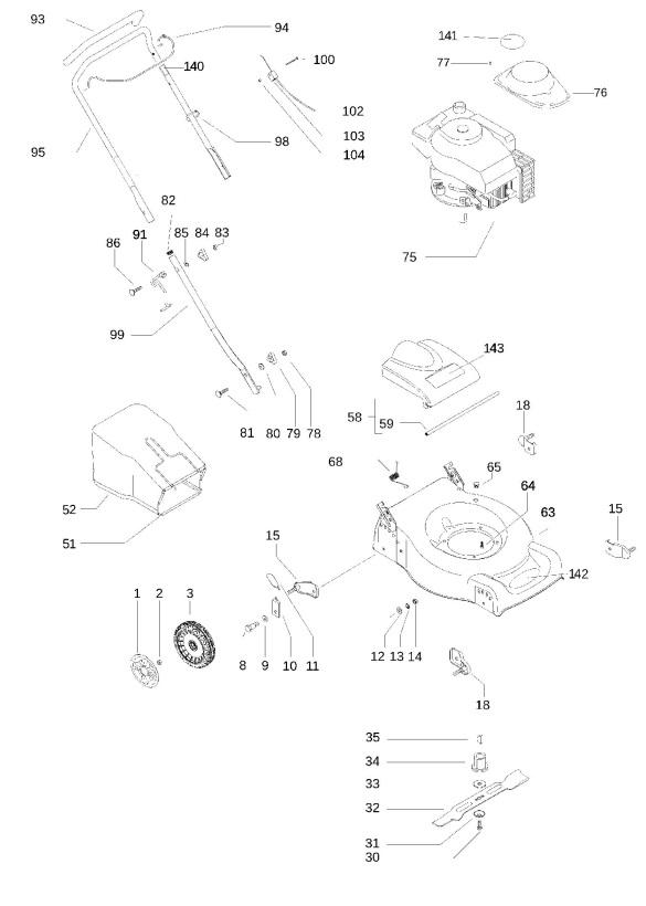 Mcculloch 140 Wiring Diagram - Wiring Diagram Img
