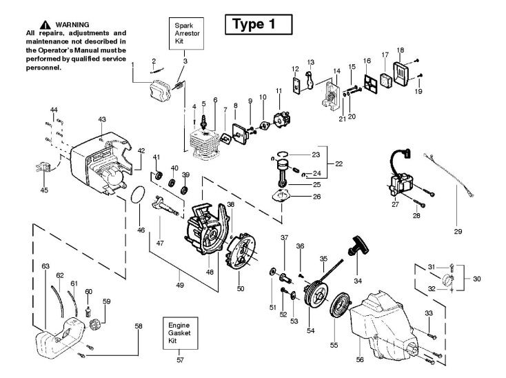 25cc Engine Diagram - Wiring Diagram Completed