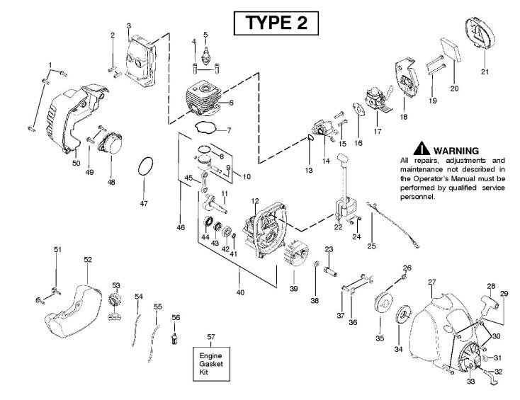 Trimmer Engine Diagram