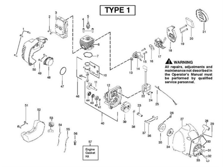 mcculloch trim mac 250ls 952715743 trimmer engine spare parts diagram rh ransomspares co uk McCulloch Gas String Trimmer Parts McCulloch Gas String Trimmer Parts