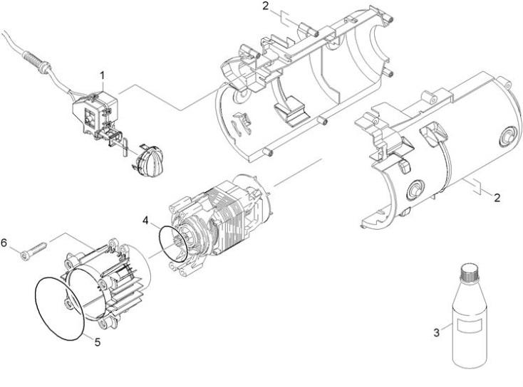Karcher K2 325 Eu 1 602 202 0 Pressure Washer Motor