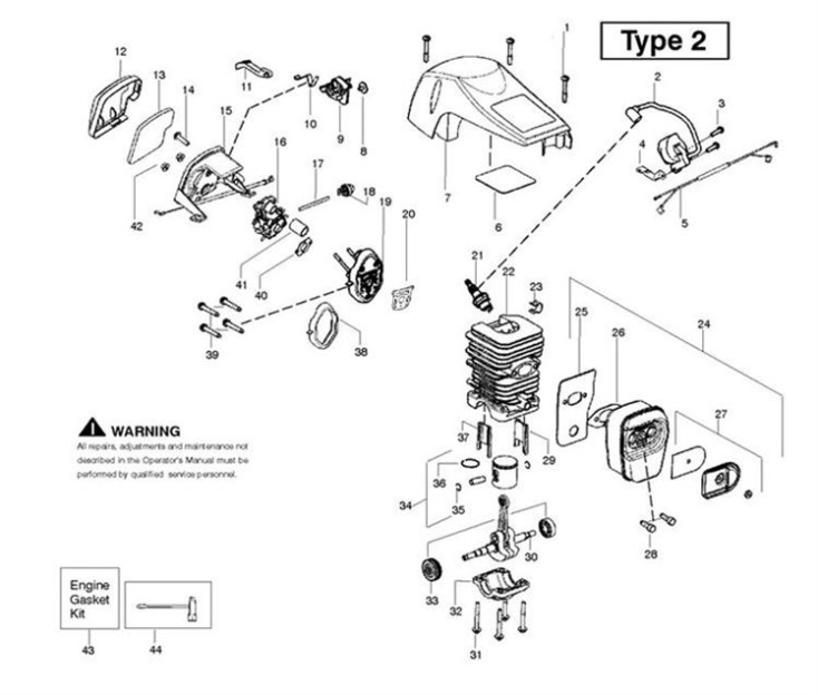 mcculloch mac 7 40 mac 740 952802125 chainsaw engine spare mcculloch mac 7 40 mac 740 952802125 chainsaw engine spare parts diagram