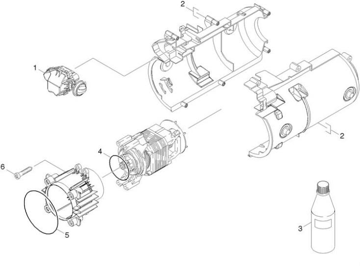 Karcher K3 150 Eu 1 601 642 0 Pressure Washer Motor