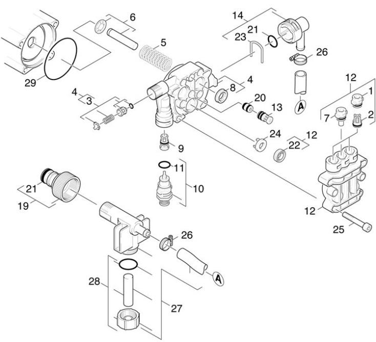 Diagram Karcher Pressure Washer Nozzle Diagram Diagram Schematic