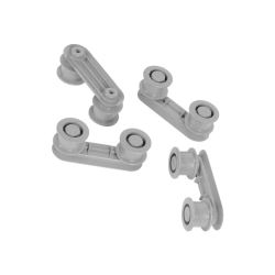 Wheel Support Kit Dark Grey (Pack of 4)