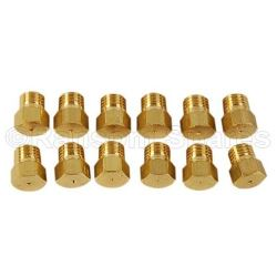 Nozzle set liquid gas