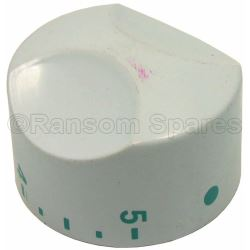 Thermostat Temperature White Knob Dial
