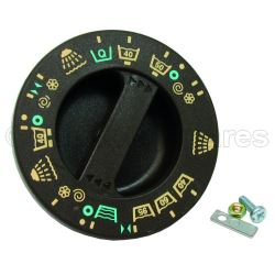 Brown Timer Function Control Knob Dial