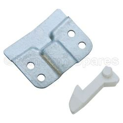 Door Latch Catch Hook & Plate Kit