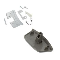 Door Handle Spring & Hook Kit Grey / Silver