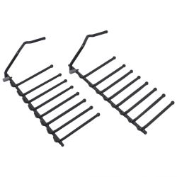 Lower Bottom Rack Flip Tine Plate Rack