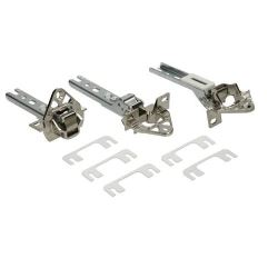 Decor Door Hinge Kit (Pack of 3)