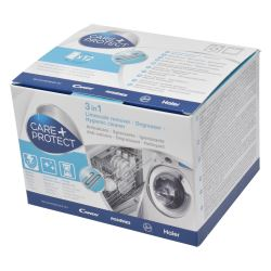Care & Protect Limescale Remover - Smelly Washing Machine Cure - Pack of 12