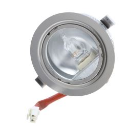 Halogen Lens Light & Bulb