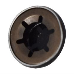 Wheel Securing Cap 8mm BLACK