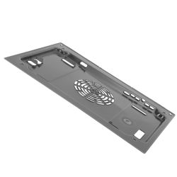 Hot-air guide plate