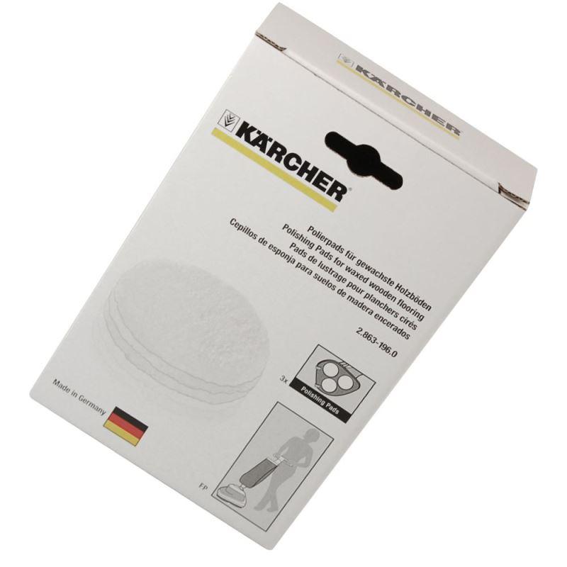 Karcher Polisher Polishing Pad Parquet (X3)
