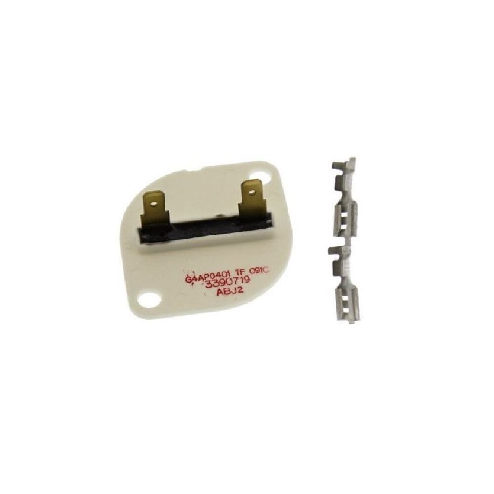 Genuine part number 481925228115 Whirlpool Tumble Dryer Thermal Fuse